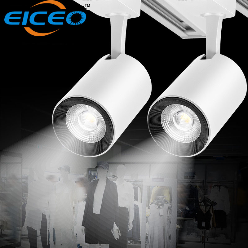 Us 19 2 Led Track Light 5w Smd Ceiling Rail Lights Lighting For Pendant Lamp Clothes Shoes Lamps Indoor Spotlights In