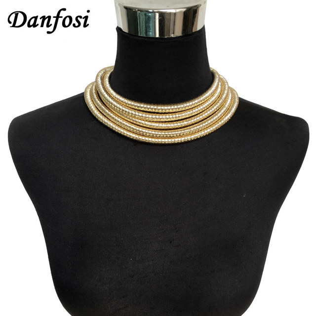 Kim Collar Choker Necklace