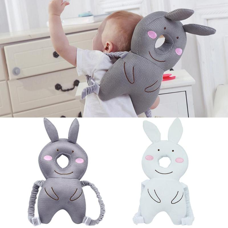 Baby Headrest Pillow Cute Baby Head Protection Backpack Pillow Toddler Nursing Headrest Cushion For Learning Walking Period
