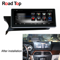 Android 7.1 Octa 8 Core 2+32G Car Radio GPS Navigation WiFi Bluetooth Head Unit Screen for Mercedes Benz C Class W204 2011 2013