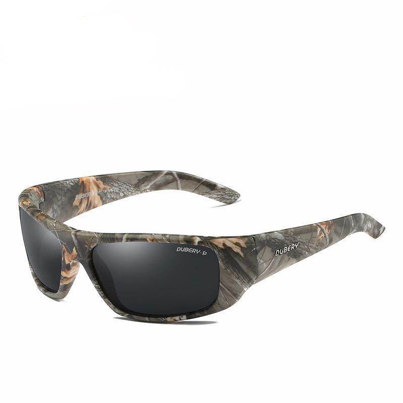 00bb554812c5e Esportes Camo Polarizado Homens ou Mulheres óculos de Sol Óculos De Pesca  Ao Ar Livre Pesca Condução Equitação Proteção UV400