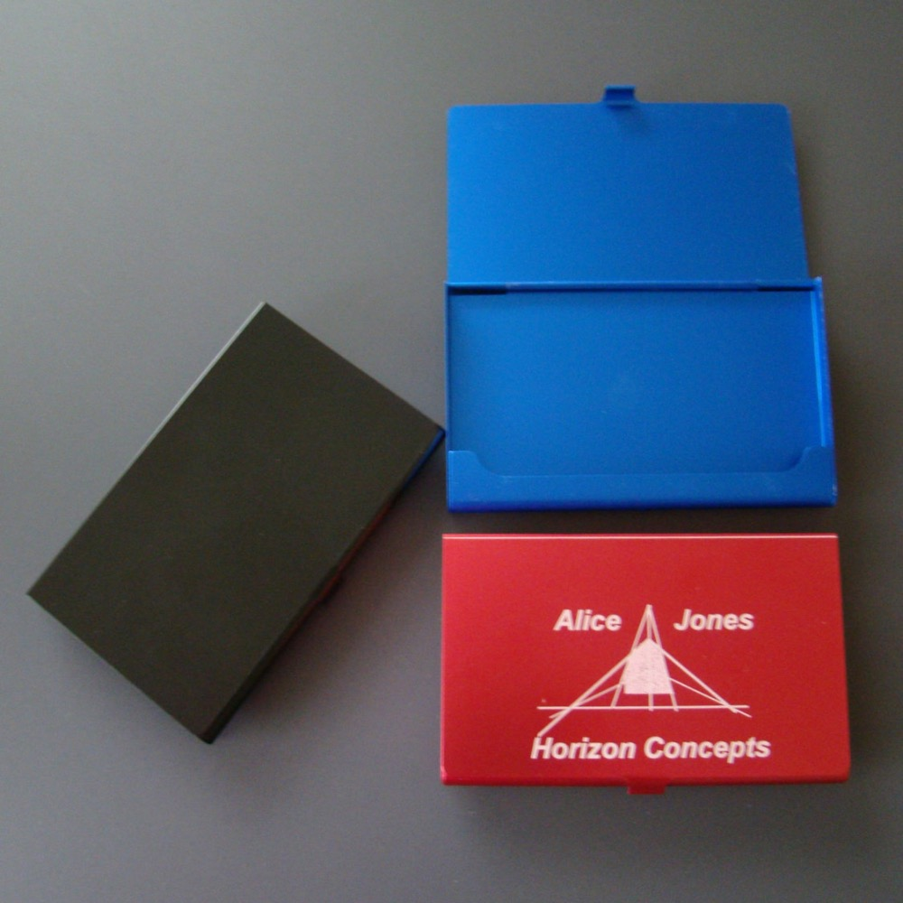Personalized Business Card Holder For Men   Arts - Arts