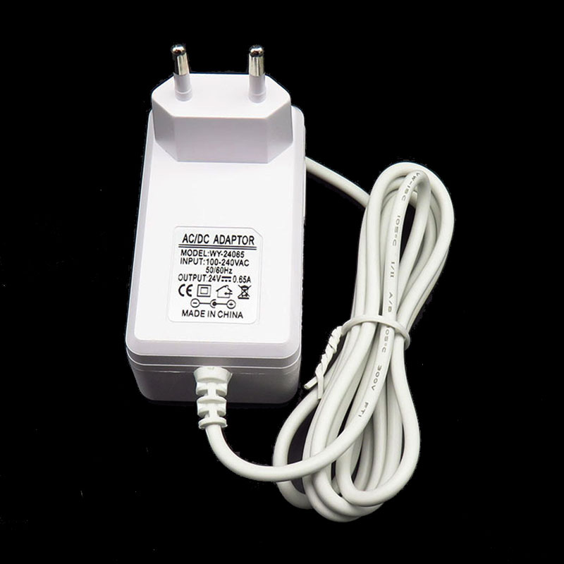 24V0.65A Adaptateur dalimentation Mural Blanc Adaptateur dalimentation europ/éenne Aroma Humidifier Plug Adapter 24V Blanc