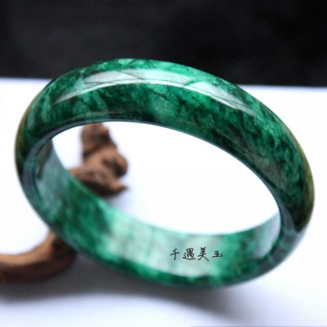 Sz072 Free Certificate Box 100 Natural Chinese Jade Bracelets Jade