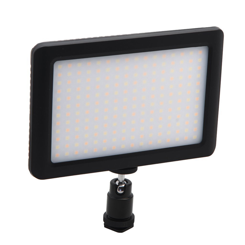 12W 192 LED Studio Video Continuous Light Lamp For Camera DV Camcorder Black цена
