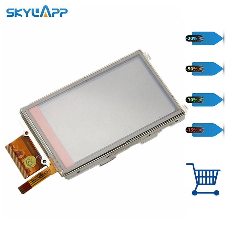 Skylarpu 3 inch Handheld GPS LCD display screen For GARMIN OREGON 200 300 with touch digitizer panel glass Free shipping skylarpu 3 inch lcd panel for garmin oregon 450 450t handheld gps lcd display touch screen digitizer