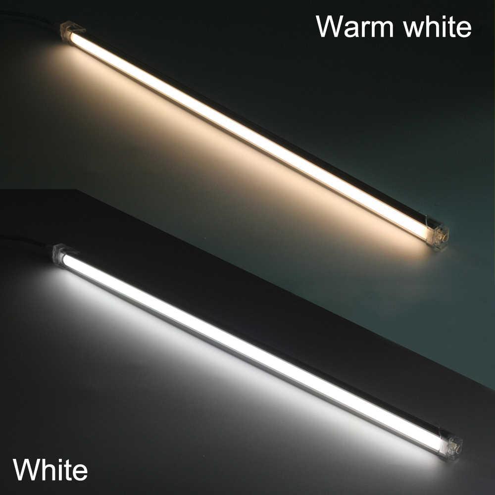 2 шт. 50 см Быстрый бесшовный Соединительный светодиодный фонарь 42 светодиодный s SMD 2835 Светодиодные полосы освещение для шкафа-буфета комплект с 1А Блок питания