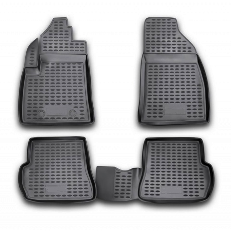 цена на Floor mats for Ford Fusion 2002 2003 2004 2006 2008 2010 2012 Element NLC1606210 Russia Stock