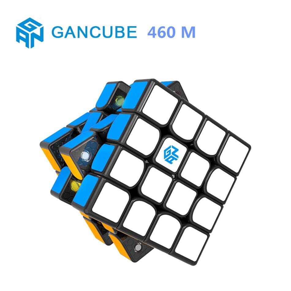 GAN 4x4 Cube GAN 460 M 4X4X4 Cube magique 4 couches vitesse magnétique Cube Gan460m Puzzle professionnel jouets pour enfants enfants cadeau jouet