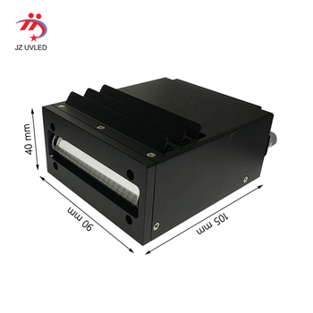 High quality Fan cooling UV lamp for Nocai Uv flatbed printer 395 DX5 Ricoh G4 G5 Nozzle Ultraviolet printer LED light the cure jhf e3000 f3000 uv printer uv lamp ac 10598