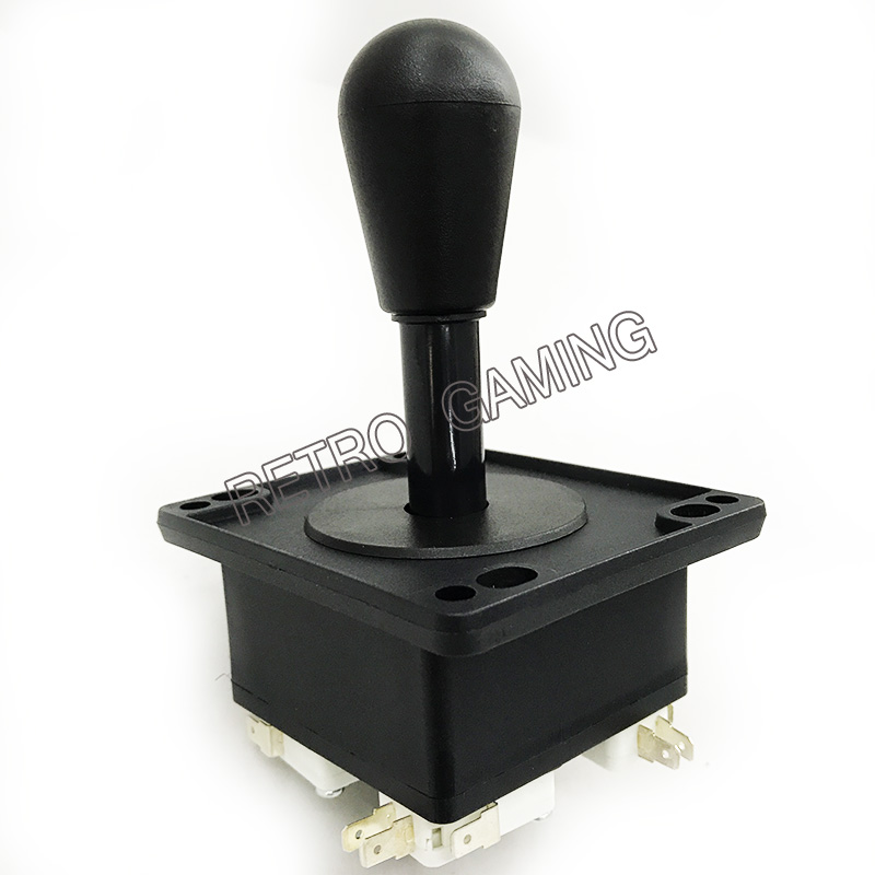 1 Pcs High Quality American Style Arcade Joystick With Microswitches For Jamma Games Controller Joypad (black,4/8 Way)