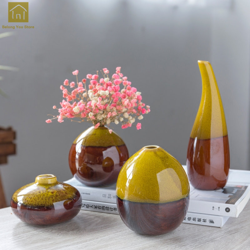 vase de decoration Porcelain Ceramic Vase Chinese Jingdezhen Classical Home Decoration Crafts  Vaso De Planta Ornaments Ceramic Vase Vintage QAB171-in Vases from Home u0026  Garden ...