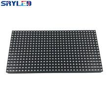 O wysokiej jasności P8 na świeżym powietrzu SMD3535 3in1 rgb pełny kolor moduł wyświetlacza led 256mm x 128mm 32x16 pikseli panelu