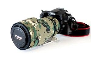Image 5 - ROLANPRO เลนส์ Camouflage Coat Rain Cover สำหรับ Canon EF 70 200mm F2.8 L III USM ปืนป้องกันกรณี DSLR ป้องกัน
