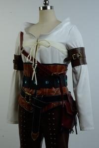 Image 4 - Ciri Cirilla Fiona Elen Full Set Uniform  Halloween Carnival Cosplay Costume
