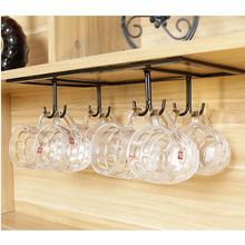 Держатель для винного стакана, держатель для кружки, подвесной винный шкаф с перевернутыми дверями, полка для кофейной чашки, винный шкаф, украшение, креативный держатель для чашки