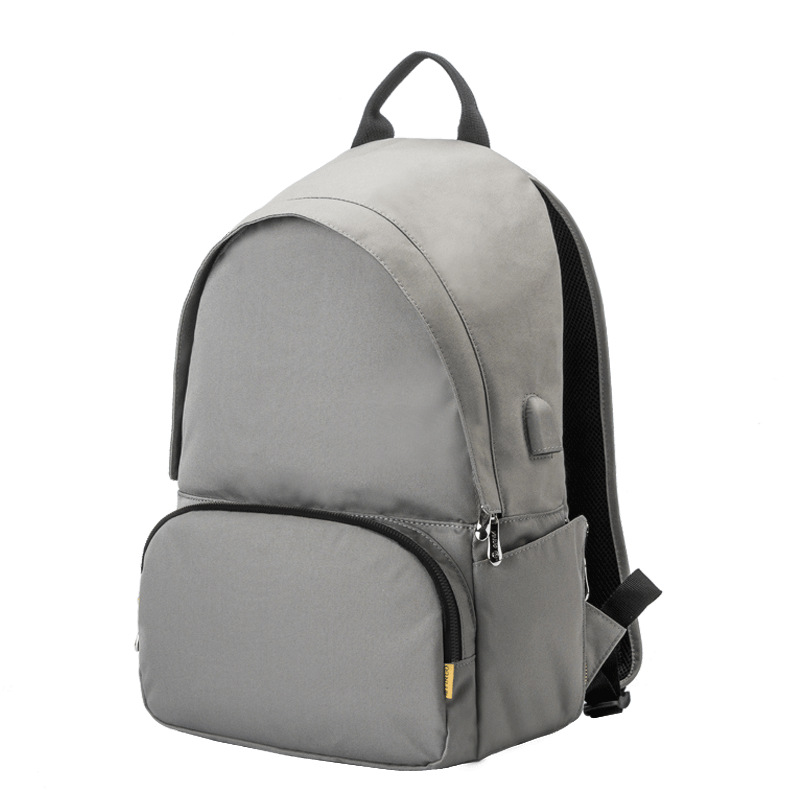 15 6 Inch Laptop Backpack USB Charge Computer Backpacks Anti theft Waterproof Polyester Bag Men Women