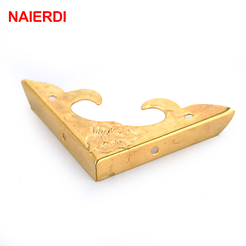 30pcs Naierdi Gold Corner Bracket Book Scrapbooking Album