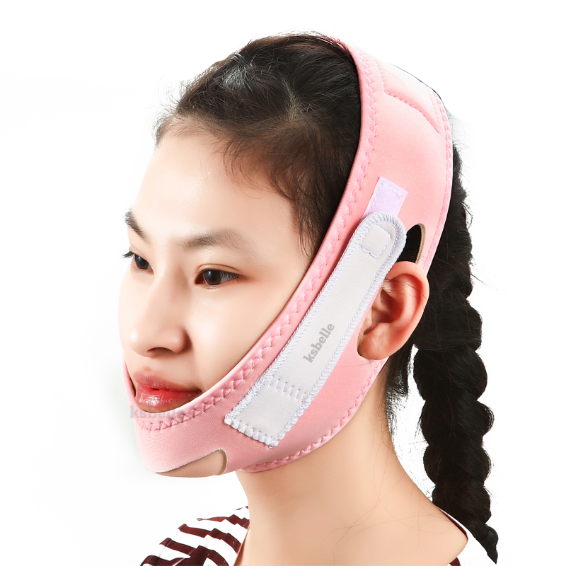 KSBELLE V-Line Lift Up Cheek Chin Neck Belt Strap Beauty Delicate Facial Thin Face