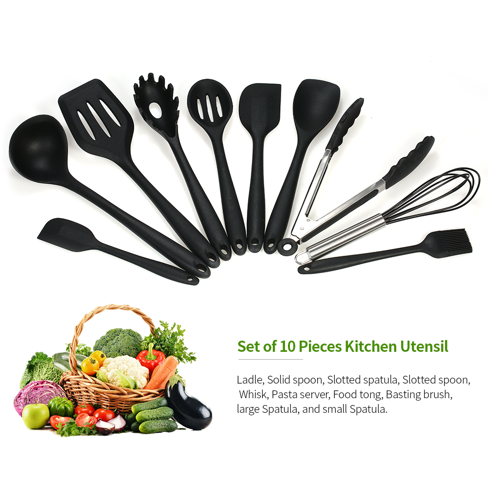 Detail Feedback Questions About 10pcs Set Non Stick Silicone Camping