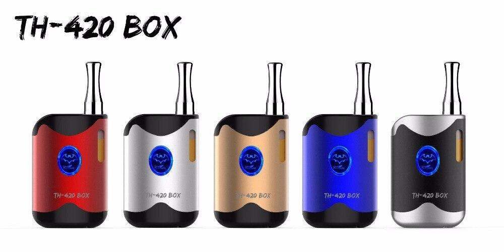 KangVape CBD TH-420 Box Kit E Cigarette 650mAh Battery Vapor Mod with Preheat Function 0.5ml Oil CE3 Vape Cartridge Atomizer