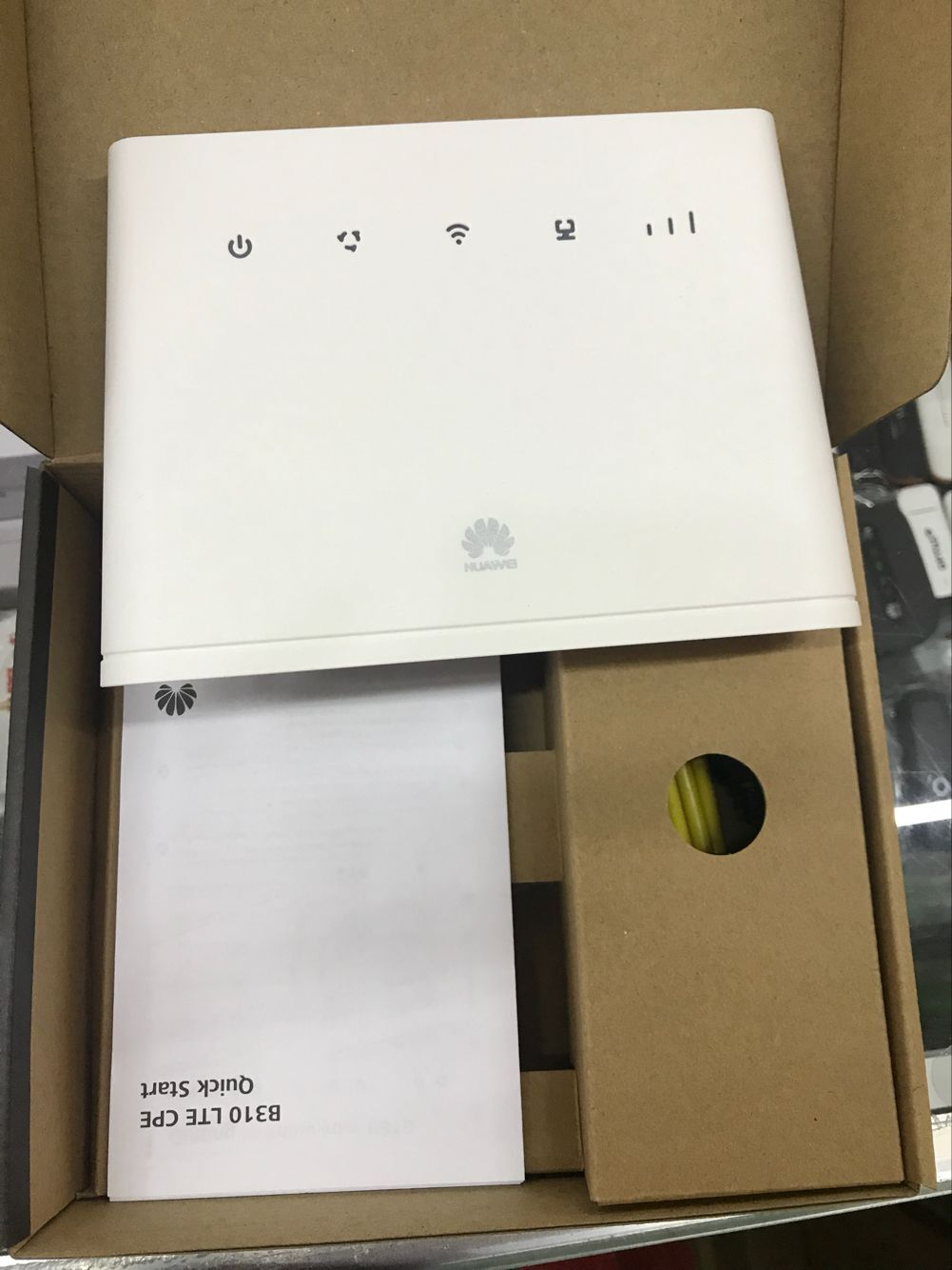 Unlocked New Arrival Huawei B310 B310s 518 150mbps 4g Lte Cpe Wifi Modem Is A With Category 4 Technology Could Achieve Connection Of Up To Through Its Gigabit Ethernet Port