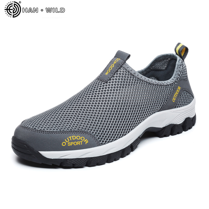 Men Casual Shoes Sneakers Fashion Light Breathable Summer Sandals Outdoor Beach Mesh Shoes Zapatos De Hombre Mens Shoes