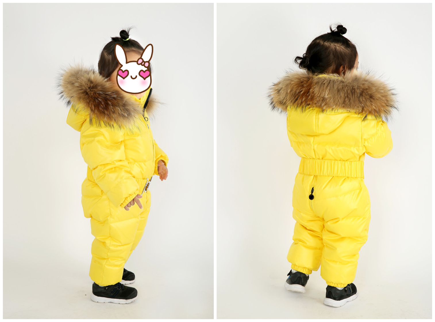 Winter Baby Rompers Down Jumpsuit Solid Color Hooded Keep Warm Duck Down Boys Girls Snow Jumpsuit High Quality Baby Clothes