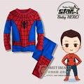 El Capitán América Avengers Cosplay Niños Chicos Ropa set Baby Boy Deportes Juegos de Los Cabritos 2 unids Ropa Juegos del Muchacho chándales
