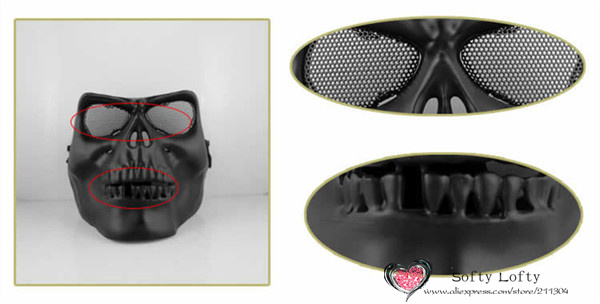 CS Soldiers Mask Protection 3 colors - Black 2