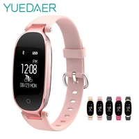 S3 Smart Bracelet For Women Heart Rate Monitor Blood Pressure Touch Screen Activity Tracker Pedometer Female
