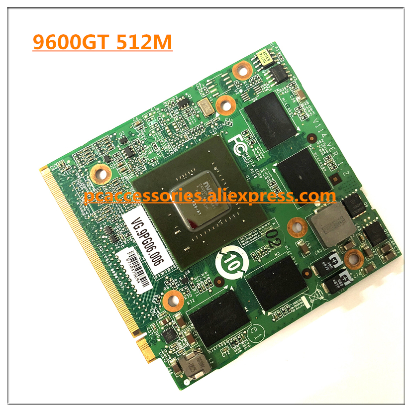 For Acer Aspire 6930 5530G 7730G 5930G 5720G Laptop Graphics Video Card for nVidia GeForce 9600M GT GDDR3 512MB MXM G96-630-A1 for acer aspire 5520g 6930g 7720g 7730g 4630g laptop n vidia geforce 9300m gs 256mb g98 630 u2 ddr2 mxm ii graphic video card