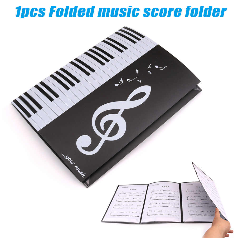 Expanded Sheet Music Score Folder A4 Size Document Paper Staff Collection YA88