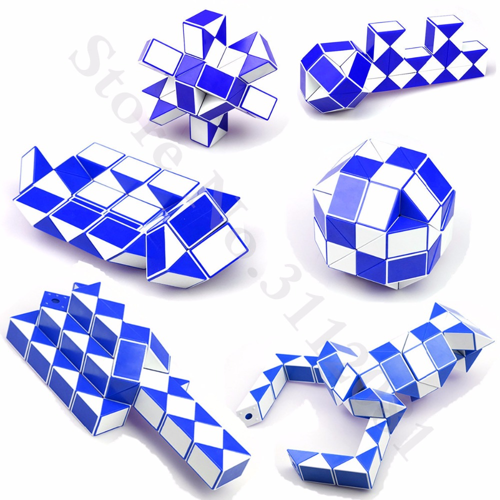 Toys & Hobbies Magic Cubes Magic Snake Shape Cube Puzzle Toy Christmas Gifts Random Color