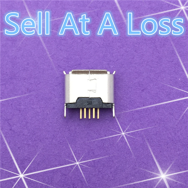 10pcs G24 Micro USB 5pin Female Socket Connector Direct Plug-in Type for Charging Mobile Phone High Quality Sell At A Loss USA 10x mini usb type b 5pin female connector adapter for mobile phone mini usb jack connector 5 pin charging socket plug hy1374 10