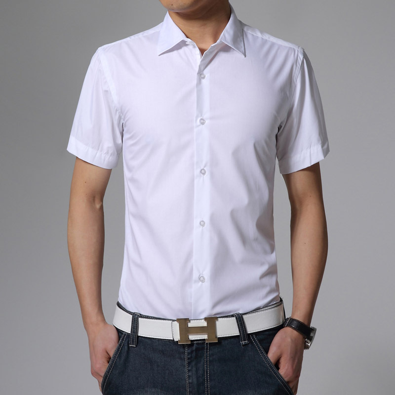 Buy Men Shirt Short Sleeve Dress Shirt