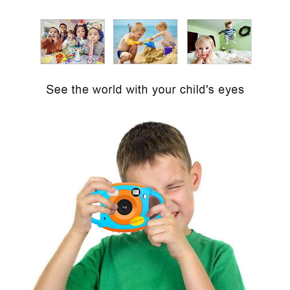Enfants multi-fonction caméra jouets numérique photographie bande dessinée Photo caméra Dv pour enfants sport caméra cadeau d'anniversaire