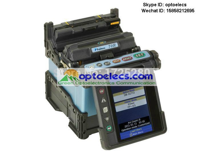 DHL Free Shipping The newest ribbon fusion splicer 70R mass optical fiber fusion splicer