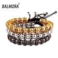 New Brand Anil Arjandas Bracelets Micro Pave CZ Beads Braiding Macrame Adjustable Bracelets NY-B-601