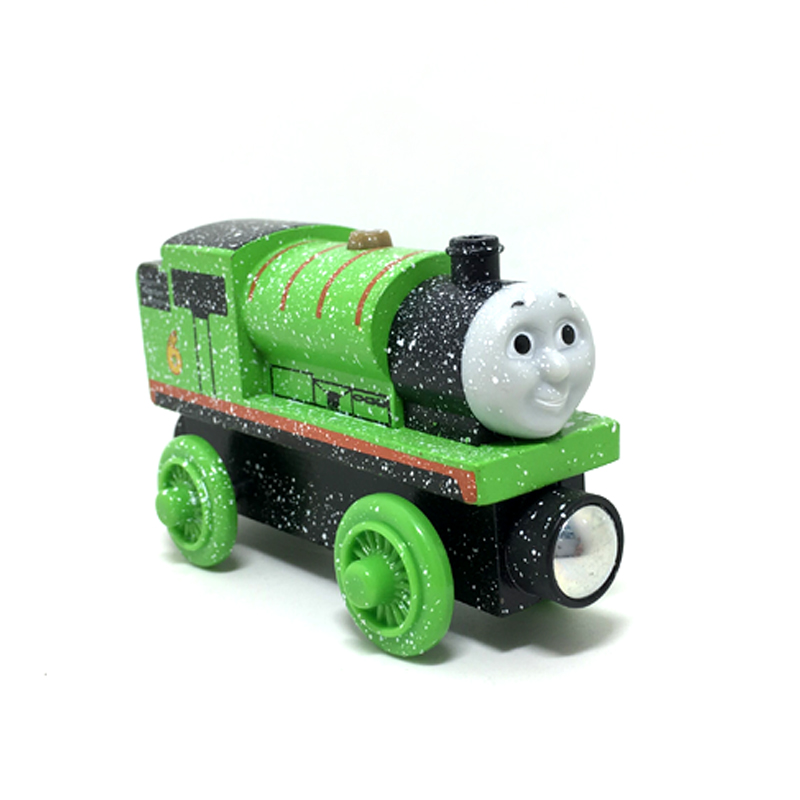 W20 Thomas And Friends Percy Snowflake Version Wooden Magnetic Train Models Big Kids Christmas Toys Gifts For In Diecasts Toy Vehicles From