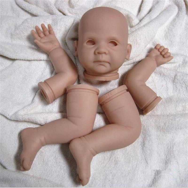 Reborn Doll Kits for 20inches Soft Vinyl Reborn Baby Dolls Accessories for DIY Realistic Toys for DIY Reborn Dolls Kits dk-25 reborn doll kits for 20inches soft vinyl reborn baby dolls accessories for diy realistic toys for diy reborn dolls kits dk 89