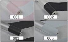 Pink Black White Deep Embossed Vertical Stripes Wallpaper For Walls, Minimalist Designs Flocked Modern Stripe Wall paper