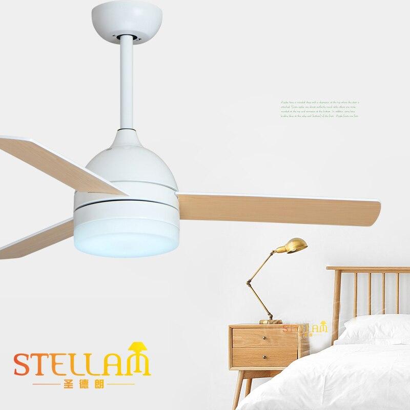 Compra ventiladores de techo modernas con luces online al - Ventiladores de techo de madera ...