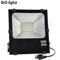 10W 20W 30W 50W LED Flood Light AC85 265V Waterproof IP65 LED Floodlight Reflector Wall Lamp Outdoor Garden Halogen Light