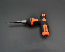 Multifunctional ratchet 2-in-1 screwdriver with three telescopic screwdriver combination tool sets ratchet wrench