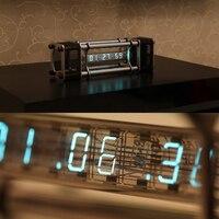 В разобранном виде IV 18 лампах электронные часы комплект DIY 6 цифровой Дисплей энергия столп с удаленным Управление модуль