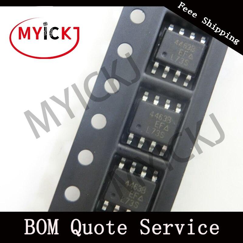 10pcs SI4463BDY IC CHIP  MOSFET P-CH 20V 9.8A 8-SOIC   4463B