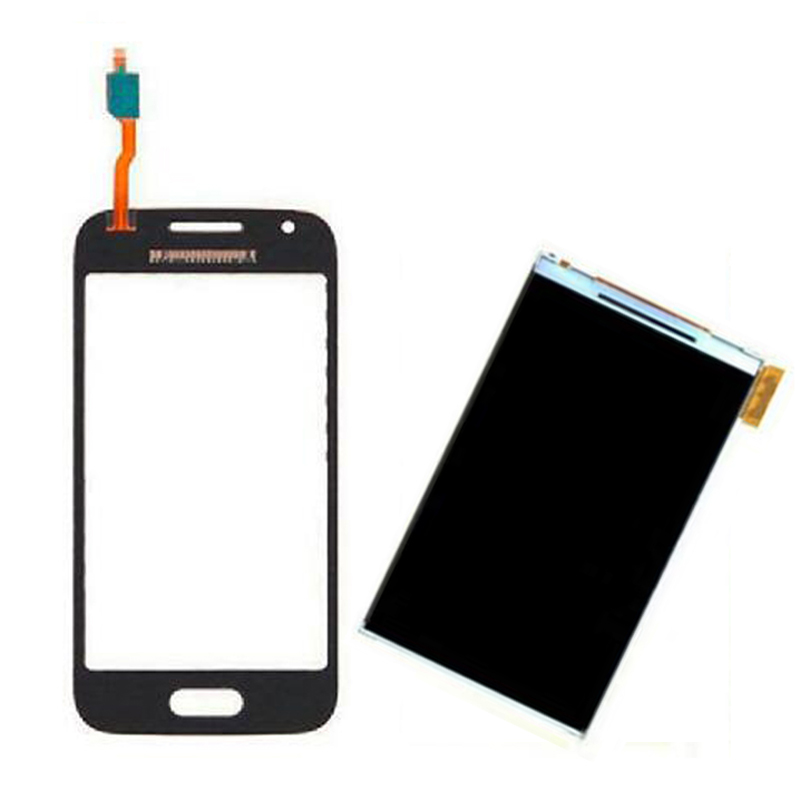 Black / White For Samsung Galaxy Trend Lite 2 G318 G318H Touch Screen Digitizer Sensor Glass + LCD Display Screen Panel Monitor