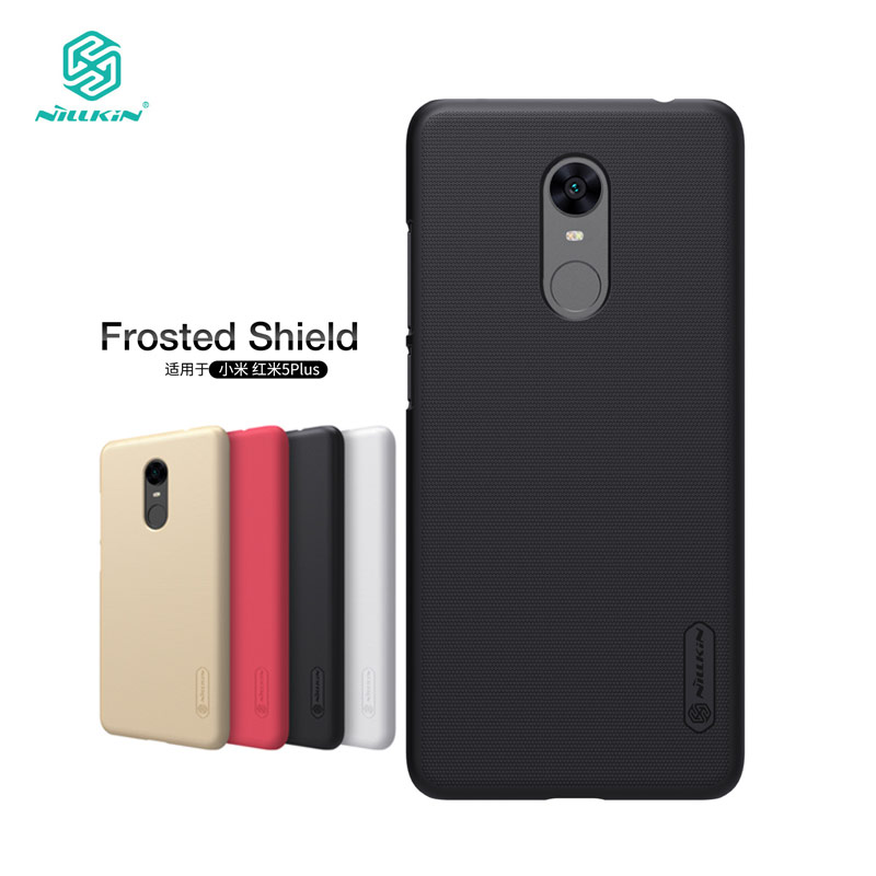 Xiaomi Redmi 5 Plus Case Nillkin Frosted Shield Hard Back Cover Case for Xiaomi Redmi 5 Plus 5.99 inch Gift Screen Protector