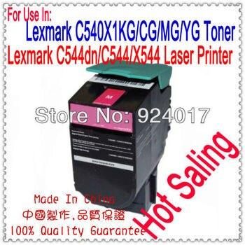 For Lexmark C544 Toner Cartridge,Toner Reset For Lexmark C544DN C544N C544DW C546DTN X544DN X544N X546DTN X548DE X548DTE Printer